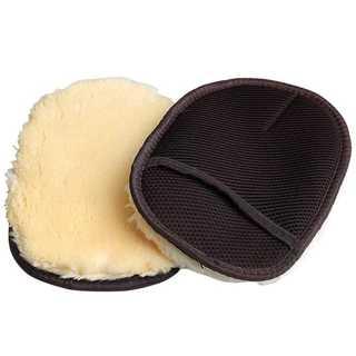 洗車用のムートン手袋です。新品未使用品☆2つ入り☆グローブ(メンテナンス用品)
