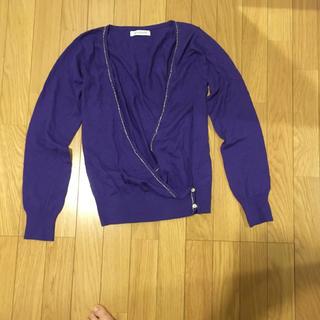 コレクトポイント(collect point)のコレクトポイントのセーター青(新品未使用)(ニット/セーター)