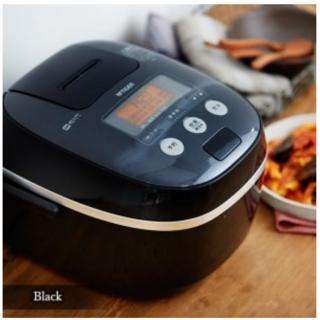 炊飯器 タイガー JPE-A100K ブラック 5.5合 IH 土鍋コーティング(炊飯器)