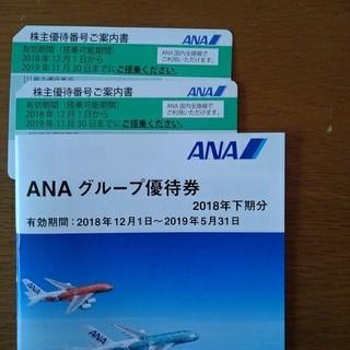 エーエヌエー(ゼンニッポンクウユ)(ANA(全日本空輸))のANA株主優待券、グループ優待券(航空券)