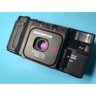 オリンパス(OLYMPUS)の雑誌掲載の大人気カメラ! かわいい! OLYMPUS AFL-T(フィルムカメラ)