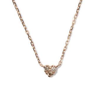 ノジェス(NOJESS)のノジェス k18 ダイヤ ハート ネックレス(ネックレス)