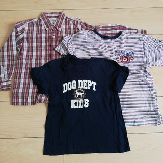 ドッグデプト(DOG DEPT)の男の子 110センチ(Tシャツ/カットソー)