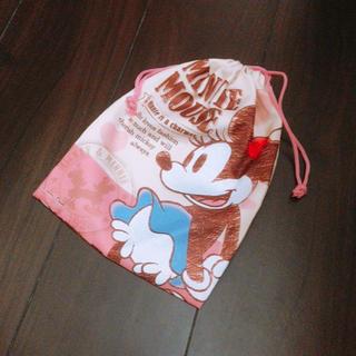 ディズニー(Disney)のミニーマウス巾着袋❤︎❤︎(ランチボックス巾着)