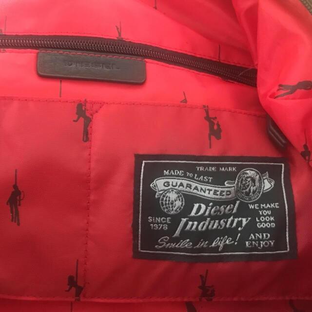 DIESEL(ディーゼル)のディーゼル/DIESEL  ヴィンテージインディコデニムボストンバッグ メンズのバッグ(ボストンバッグ)の商品写真