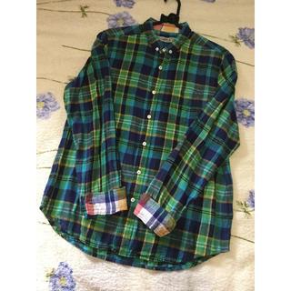キューブシュガー(CUBE SUGAR)のチェックシャツ(シャツ/ブラウス(長袖/七分))