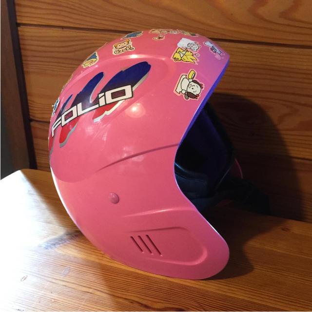 ジュニア スキー、スノーボード用 ヘルメット スポーツ/アウトドアのスノーボード(ウエア/装備)の商品写真