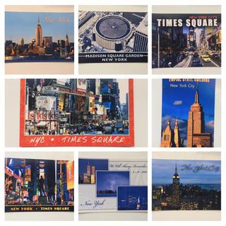 アメリカの絵葉書/ポストカード 23枚 【ニューヨーク】(写真/ポストカード)