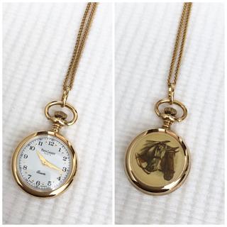 ピエールラニエ(Pierre Lannier)の《専用》Pierre Lannier  クォーツ式ネックレスウォッチ(腕時計)