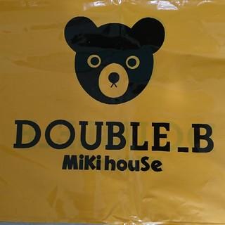 ミキハウス(mikihouse)のタケリハ様専用 新品ミキハウス クーラーバック 送料込 (ランチボックス巾着)