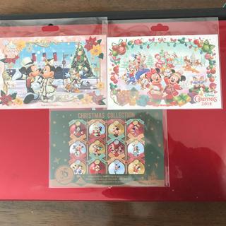 ディズニー(Disney)のディズニー クリスマス 2018 ポストカード セット  ・ ディズニー(写真/ポストカード)
