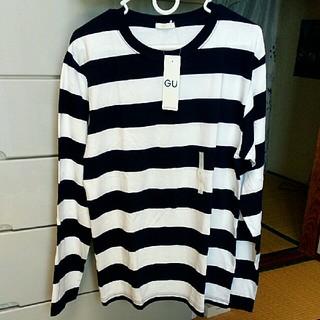 ジーユー(GU)のGU クルーネック長袖Tシャツ(Tシャツ/カットソー(七分/長袖))