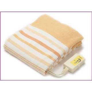 【早い者勝ち♪】?洗える電気毛布 安心 日本製 オレンジ(電気毛布)