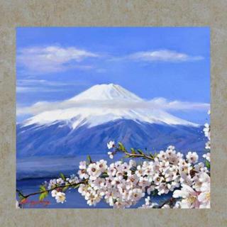 『春陽』 掛け軸 タペストリー(絵画/タペストリー)