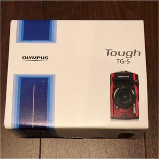 オリンパス(OLYMPUS)のオリンパス 防水デジカメ OLYMPUS Tough TG-5 新品未使用(コンパクトデジタルカメラ)