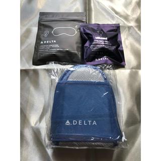 デルタ(DELTA)の*⋆✈︎デルタ航空 3点セット(旅行用品)