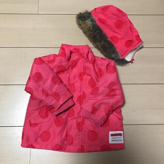 ムージョンジョン(mou jon jon)のmoujonjon  女児80サイズ 中綿ジャケット(ジャケット/コート)