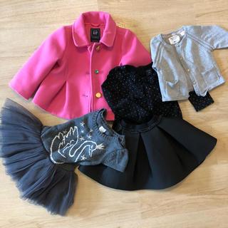 ベビーギャップ(babyGAP)のコーデ売り♪gap zara コート ワンピース スカート セット(ジャケット/コート)