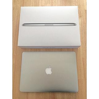 マック(Mac (Apple))のMacBook Pro retina 13-inch (ノートPC)