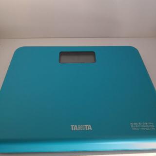 タニタ(TANITA)のタニタ体重計ブルーHD-660BL 乗るだけで電源オン 約B5サイズ(体重計/体脂肪計)