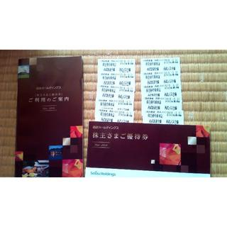 西武鉄道乗車券10枚、冊子とセット☆(その他)