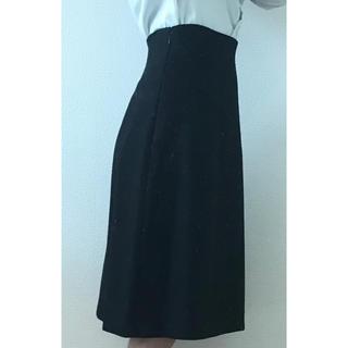 デミルクスビームス(Demi-Luxe BEAMS)のスカート BEAMS 黒(ひざ丈スカート)