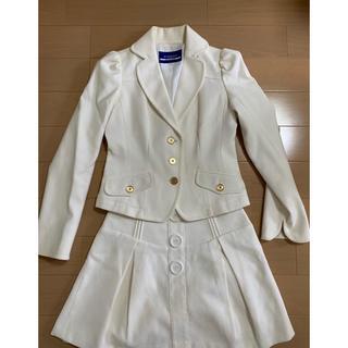 バーバリーブルーレーベル(BURBERRY BLUE LABEL)のバーバリーブルーレーベル 白スーツ(スーツ)