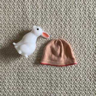 キャラメルベビー&チャイルド(Caramel baby&child )の美品新生児BONTONニット帽子(帽子)