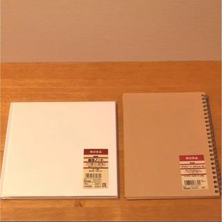 ムジルシリョウヒン(MUJI (無印良品))の未使用 無印 絵本ノート デスクノート スケジュール 手帳 セット(カレンダー/スケジュール)