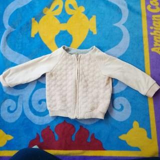 エイチアンドエム(H&M)のジップスウェット ベビーピンク サイズ 80(ジャケット/コート)