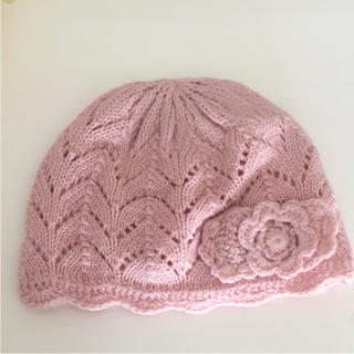ネクスト(NEXT)のネクスト ピンク ニット帽(帽子)