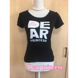 ディアプリンセス(Dear Princess)のDEAR PRINCESS黒ニットセーター  冬物(ニット/セーター)