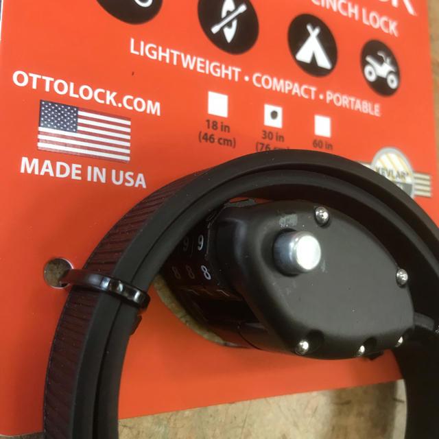 OTTO LOCK 自転車用鍵 76cm ブラック スポーツ/アウトドアの自転車(その他)の商品写真