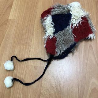 ナチュラルブー(Natural Boo)のブー 耳あて付き帽子(帽子)