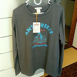 バーンズアウトフィッターズ(Barns OUTFITTERS)のクルーネック長袖Tシャツ(Tシャツ/カットソー(七分/長袖))