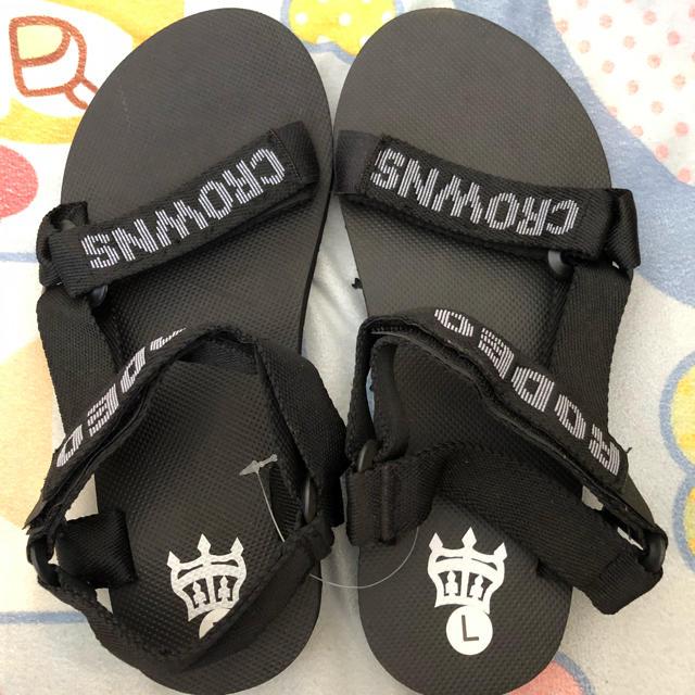 RODEO CROWNS WIDE BOWL(ロデオクラウンズワイドボウル)のロデオクラウンズ  ビーチサンダル レディースの靴/シューズ(サンダル)の商品写真