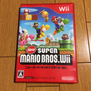 ウィー(Wii)のWii ニュースーパーマリオブラザーズWii(家庭用ゲームソフト)
