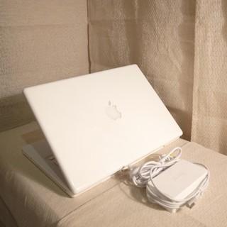 マック(Mac (Apple))のMacBook 13インチ DVD搭載 Office 250GB(ノートPC)