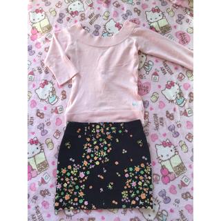アルバローザ(ALBA ROSA)のALBA ROSAトップス&スカート(ミニスカート)