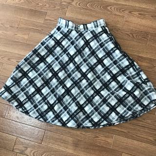 アストリアオディール(ASTORIA ODIER)のアストリア 膝丈フレアスカートSサイズ(ひざ丈スカート)