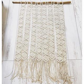 マクラメ暖簾(のれん)