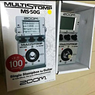 ズーム(Zoom)のZOOM MS-50G マルチエフェクター エレキギター(エフェクター)