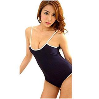 人気! スクール水着 風 コスプレ 衣装 競泳 レオタード コスチューム(衣装)