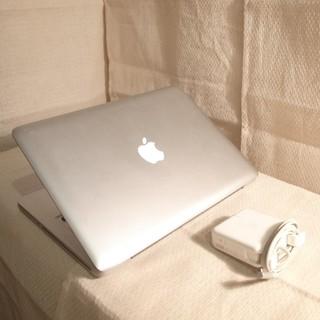 マック(Mac (Apple))のMacBook Pro 13インチ DVD Office メモリ4GB(ノートPC)