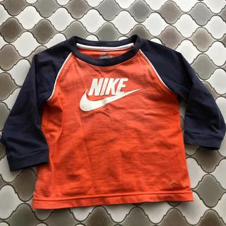 ナイキ(NIKE)のNIKE 80 ロンT オレンジ 長袖(Tシャツ)