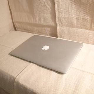 マック(Mac (Apple))のバッテリー良好 超うすうすMacBookAir Core-i5超速 SSD高速(ノートPC)