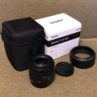 シグマ(SIGMA)の30mm F1.4 DC HSM 【Canon】(レンズ(単焦点))