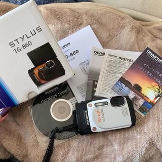 オリンパス(OLYMPUS)のOLYMPUS 防水カメラ tg860(コンパクトデジタルカメラ)