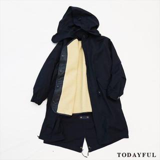 トゥデイフル(TODAYFUL)のTODAYFUL トゥデイフル Boa Mods Coat (モッズコート)