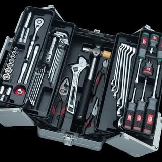 更にラクマ様クーポン5%オフ KTC 両開き工具セット 新品未使用品(メンテナンス用品)